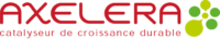 Logo d'Axelera, pôle de compétitivité sur la chimie