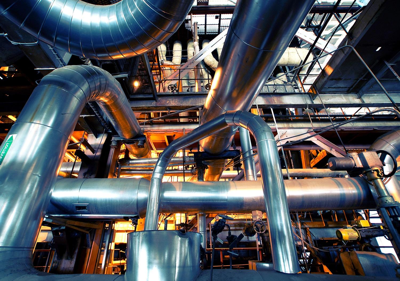Image de l'intérieur d'une usine