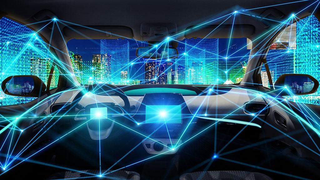 Vehicule autonome connecté